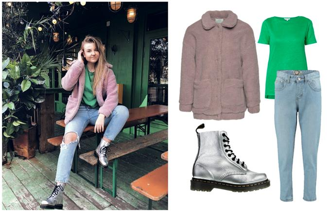 Outfit Dr. Martens veterboots Taft Shoes