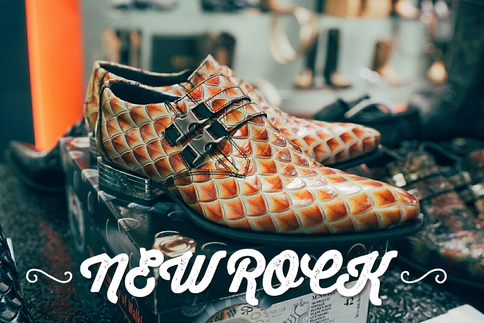 New Rock Shoes koop je bij Taft Shoes!