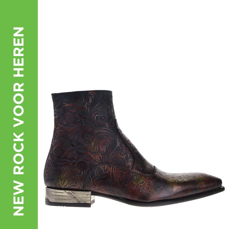 Heren New Rock schoenen in de sale