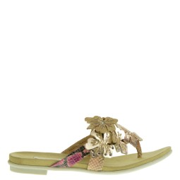 bugatti dames slippers roze gold