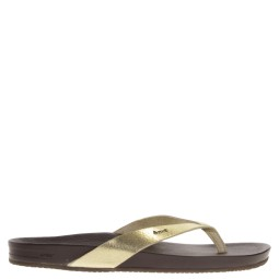 reef dames slippers goud
