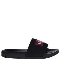 levi's dames slippers zwart