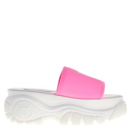 Windsor Smith dames slippers plateau roze