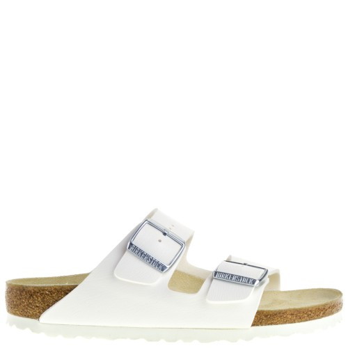 Birkenstock Arizona Dames Slippers in Wit online kopen