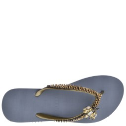 Uzurii Slippers Silver for Women