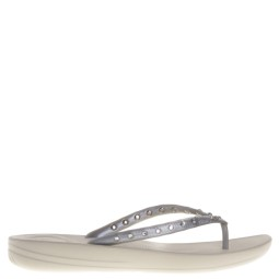 fit flop dames slippers zilver