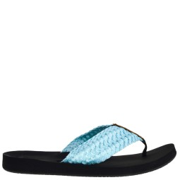 reef dames slippers blauw