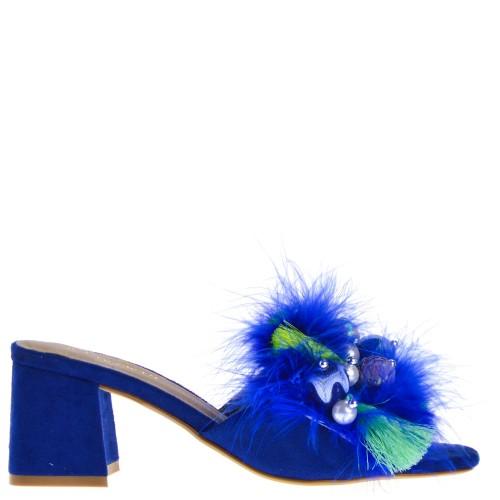 Blauwe Hak dames Sandalen | FASHIOLA.be | Vergelijk & Bestel