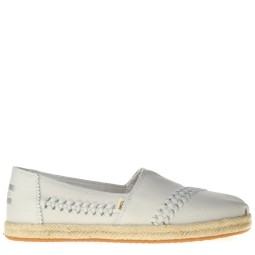 toms dames slip-ons off white