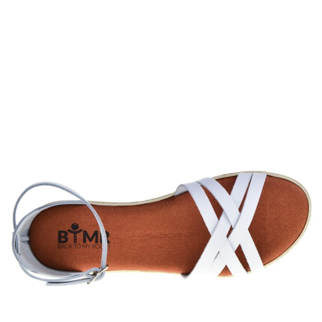 BTMR Dames Sandals in Wit online kopen
