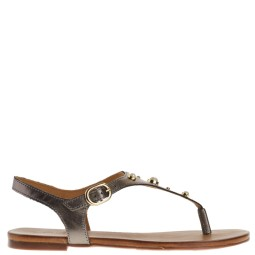 tube dames sandalen naturel