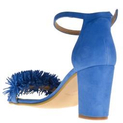 Taft Footwear Sandalen met hak blauw