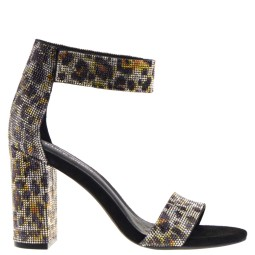 jeffrey campbell dames sandalen hak black cheetah