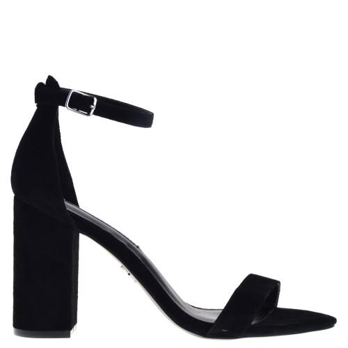 Hedendaags Windsorsmith Indie Dames Sandalen op hoge hak in Zwart online kopen CL-67