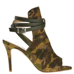 taft shoes dames sandalen high heels groen