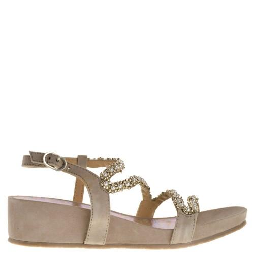 Lazamani Wedge sandals - biscuit 2mlC5u