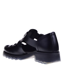 Fly London Dames Sleehak Sandals in Zwart online kopen