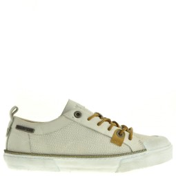 yellow cab dames veterschoenen beige