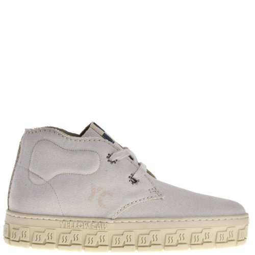 Yellow Cab Check Dames Veterschoenen in Beige online kopen