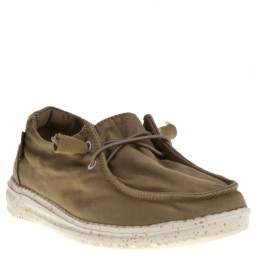 Hey Dude Dames Veterschoenen in Naturel online kopen