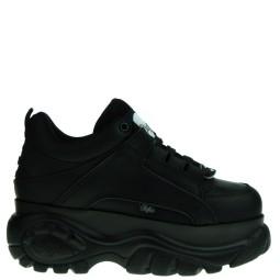 Buffalo zwarte chunky sneakers