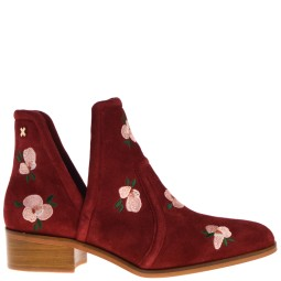 svnty Flower Open Bootie