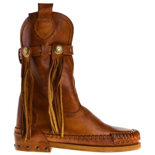 KARMA OF CHARME ANKLE BOOTS COGNAC FOR WOMEN