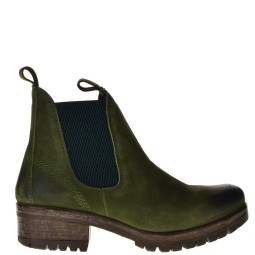 Lazamani Ankle Boots Green for Women