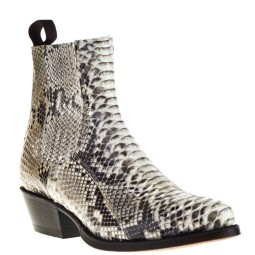 Tony Mora Dames Western Boots in Wit Python online kopen