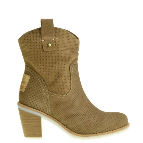 Panama Jack Ankle Boots Taupe for Women 8a4c2eaa02