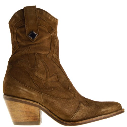 Mjus Dames Western Laarsjes in Naturel kopen bij Taft Shoes
