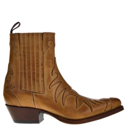 TONY MORA WESTERN BOOTS NATURAL FOR WOMAN