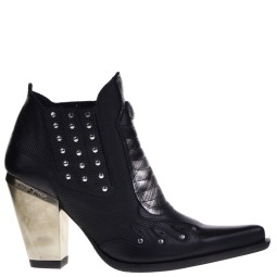new rock dames western boots zwart