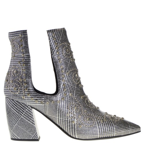 86d8e3499652b Jeffrey Campbell Ankle Boots Silver for Women