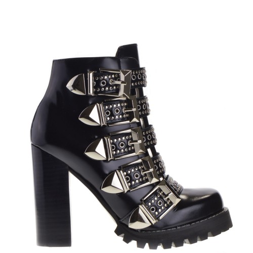 bf053a87b Jeffrey Campbell High Heels Ankle Boots Black for Women