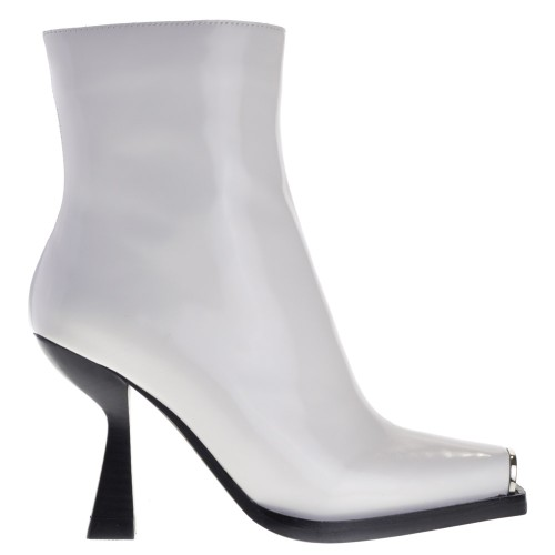5365e441a0a Jeffrey Campbell High Heels Ankle Boots White for Women