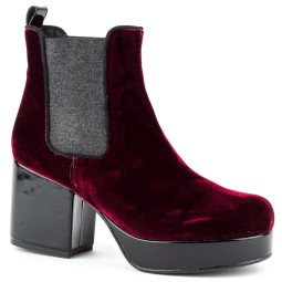 taft shoes dames enkellaarsjes bordeaux