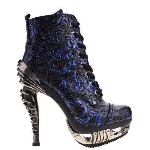 2642f33df New Rock Boots Blue for Women