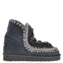 MOU Ankle Boots Grey for Women