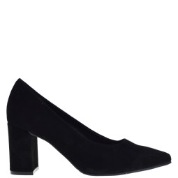 tube dames pumps zwart suede