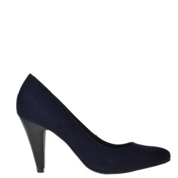 tube dames pumps blauw