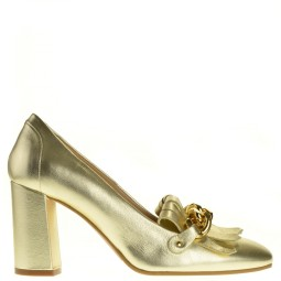 evaluna dames pumps goud