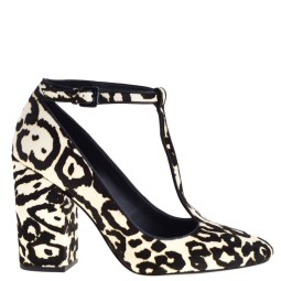 Calvin Klein Lilly Dames Pumps in Leopard Wit online kopen