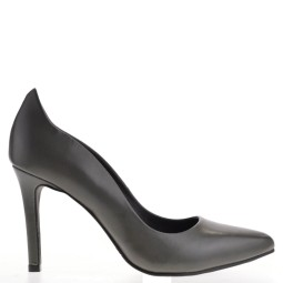 tube dames pumps high heels grijs