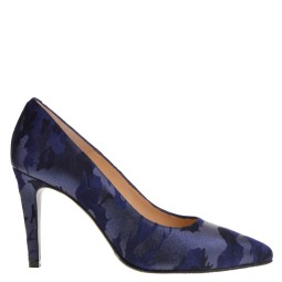 taft shoes dames pumps blauw camouflage