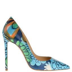 merlyn shoes dames pumps blauw combi