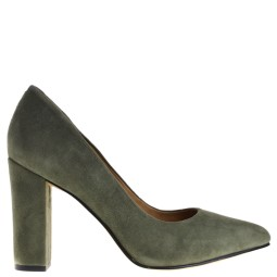 tube dames pumps groen