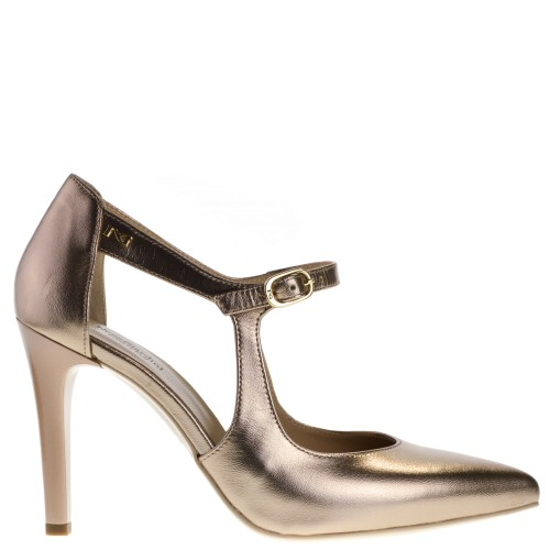 NeroGiardini Dames High Heels Pumps in Brons online kopen