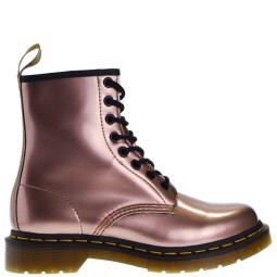 dr. martens dames veterboots rose gold