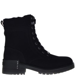 supertrash dames veterboots zwart